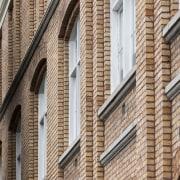 Haydn & Rollett Construction was the main contractor architecture, brick, brickwork, building, facade, structure, wall, window, orange, brown