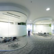 The Canam Interiors fit-out team introduced several feature architecture, ceiling, daylighting, floor, glass, interior design, leisure centre, lobby, office, real estate, gray, white
