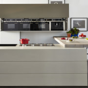 Smegs Linear Collection is a popular choice for countertop, furniture, home appliance, kitchen, kitchen appliance, kitchen stove, product design, gray