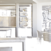 This kitchen was designed by Mick De Giulio bathroom, home, interior design, kitchen, product design, room, tap, white