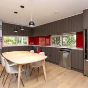 Bob Burnett Architecture specified one of NK Windows countertop, interior design, kitchen, real estate, room, gray