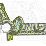 Urban oasis  Putney Hill, a new housing area, floor plan, land lot, mixed use, plan, residential area, urban design, white