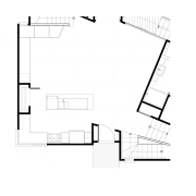For the design of this new home by angle, architecture, area, black and white, design, diagram, drawing, elevation, floor plan, font, line, plan, product, product design, square, structure, text, white