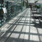 Neuchatel brings a wide range of contemporary waterproofing floor, flooring, sidewalk, walkway, gray, black