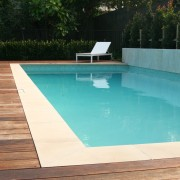 All of Executive Pools swimming pools are custom-designed backyard, composite material, floor, hardwood, leisure, property, swimming pool, water, wood, teal