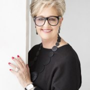 Kitchen and interior designer Celia Visser has over beauty, eyewear, glasses, hairstyle, vision care, white collar worker, white