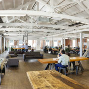 Located in one of the Christchurch Innovation Precincts ceiling, interior design, gray, white