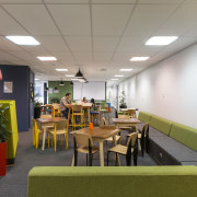 Bizdojo is a place where like-minded people and ceiling, interior design, gray