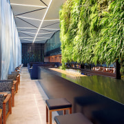 The Square Bar at Novotel Auckland Airport includes architecture, plant, real estate, tree, water