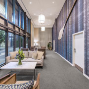 Communal areas add to the relaxed, luxurious ambience apartment, interior design, real estate, gray