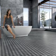 The interior designers choice of Neo 2.0 flooring floor, flooring, furniture, product design, tile, gray, black