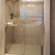 This shower by Five Star Bathrooms has bathroom, plumbing fixture, shower, brown, gray