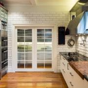 Behind closed doors  caterers for gatherings of countertop, floor, flooring, interior design, kitchen, gray