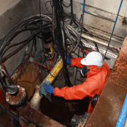 Dominion has successfully undertaken removal and containment of electrical wiring, laborer, black