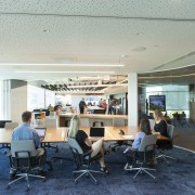 Inside looking out  the Z Energy meeting institution, interior design, office, gray