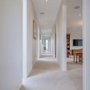 The home provides an easy separation between the