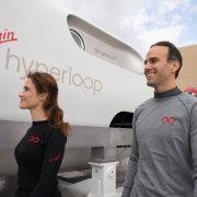 Virgin Hyperloop's first passengers in BIG-Bjarke Ingels Group