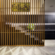 Careful planning ensured that the crafted stairs and