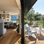 A strengthened emphasis on indoor-outdoor connections is part
