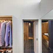 Access to the master ensuite is through the