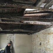 Before shot - beam | ceiling | room beam, ceiling, room, black, gray