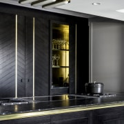 Brass highlights feature in various areas of the