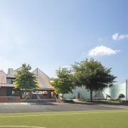 The Junior Boys' Year 5&6 Building opposite the