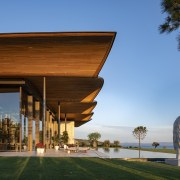 Dolunay Villa's roof is comprised of solid structural