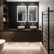 For this master bathroom, part of a master