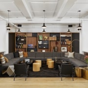 Sophisticated ambience – the owner, a founding principal