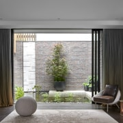 The interiors blur the line between inside and