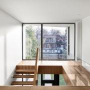 Rear window – the large window and modern