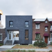 Modern brickwork in proportion to the bricks on