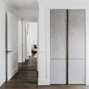 Entry to the master suite. - Hand-crafted elements