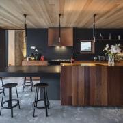 Timber joinery, cedar ceilings, recycled timber (reused cedar