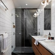Bathroom - architecture | bathroom | building | architecture, bathroom, building, ceiling, floor, flooring, furniture, home, house, interior design, material property, plumbing fixture, property, real estate, room, tap, tile, wall, gray