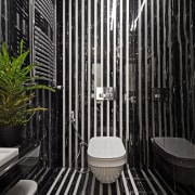 Functional for family - architecture | bathroom | architecture, bathroom, black-and-white, building, ceiling, house, interior design, line, plumbing fixture, room, black, gray