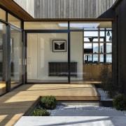 An internal open-air courtyard is just one surprising