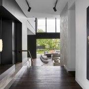 The split-level nature of the home fully utilises