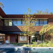 Landscape designer Case Fleher introduced lush plantings that