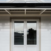 Envira Weatherboards And Timber Facing Boards Feature door, facade, home, house, siding, structure, window, white