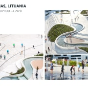 V-Plaza, Lithuania – urban development by 3deluxe.