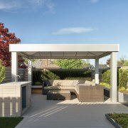 The home's private rooftop terrace. - Carriage house