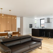 In this detached duplex, the owners wanted to
