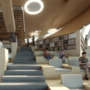 Reading Hall 3 – this cascading space is