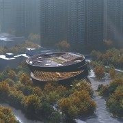 A bird's eye view of the library's proposed