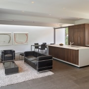 A common space in the expansive reinvented home.