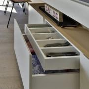 Drawers within drawers ensure maximum storage functionality.
