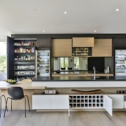 With all options revealed, this kitchen reflects an