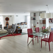 Style on the menu – the dining area